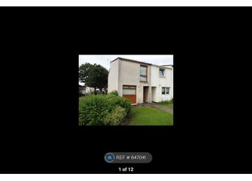 Thumbnail 2 bed end terrace house to rent in Kilwinning, Kilwinning