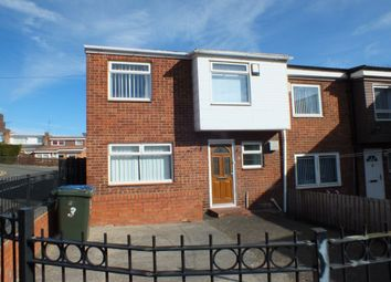 Thumbnail 3 bed terraced house for sale in Charlotte Close, Newcastle Upon Tyne