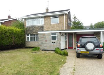 Thumbnail 3 bedroom detached house for sale in Claydon Drive, Oulton Broad, Lowestoft