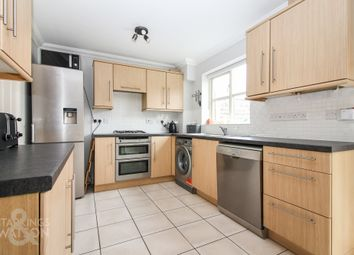 Thumbnail 3 bed town house for sale in Bromedale Avenue, Mulbarton, Norwich