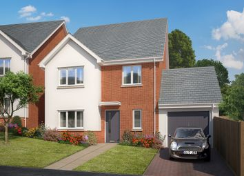 Thumbnail 4 bed link-detached house for sale in Teignmouth Road, Kingsteignton, Newton Abbot, Devon