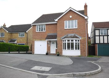 Thumbnail 4 bedroom detached house for sale in Macintosh Close, Cheshunt, Waltham Cross