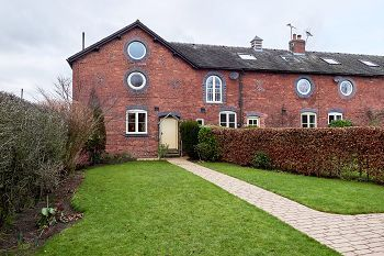 Thumbnail 4 bed barn conversion for sale in Wheelock Court, Mill Lane, Wheelock, Sandbach