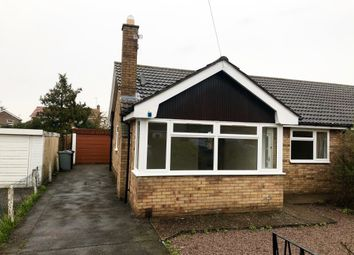 Thumbnail 2 bed bungalow to rent in Teesdale Road, Grantham