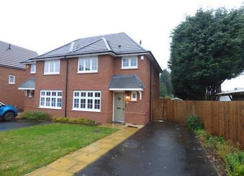 Thumbnail 3 bed semi-detached house for sale in Bill Thomas Way, Off Throne Road, Rowley Regis, West Midlands