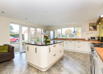 Thumbnail 4 bed detached bungalow for sale in West Lilling, York
