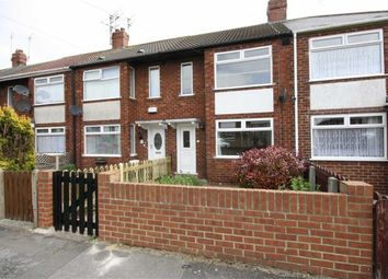 Thumbnail 2 bed terraced house to rent in Ilford Road, West Hull