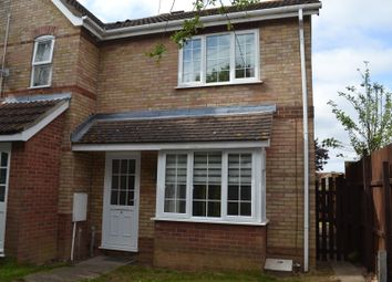 Thumbnail 2 bedroom end terrace house to rent in Kingfisher Drive, Wisbech