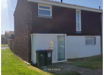 Thumbnail 3 bedroom end terrace house to rent in Pegwell Close, Crawley