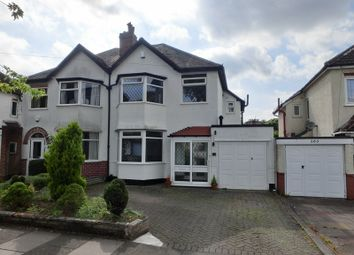 Thumbnail 3 bed semi-detached house for sale in Bushmore Road, Hall Green, Birmingham