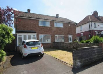 Thumbnail 2 bed semi-detached house for sale in Plymouthwood Crescent, Cardiff