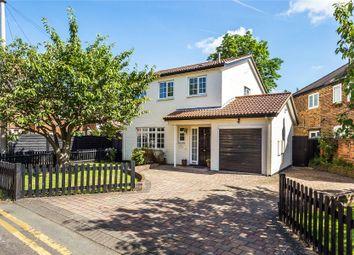 Thumbnail 3 bed detached house for sale in Weybridge, Surrey