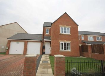 Thumbnail 3 bed detached house to rent in Gatcombe Way, Newfield, Chester Le Street, County Durham