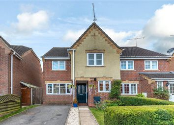 Kingfishers, Shipton Bellinger, Tidworth SP9. 3 bed semi-detached house for sale