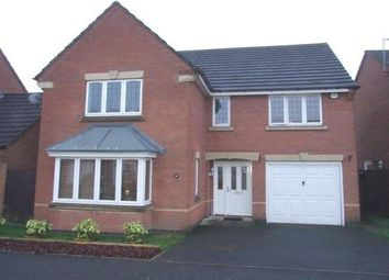 Thumbnail 4 bed property to rent in Chandlers Croft, Ibstock