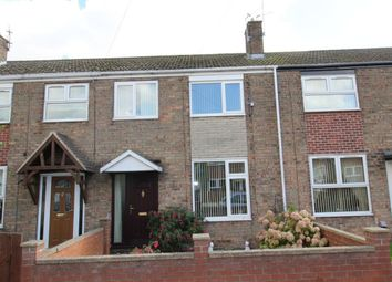 Thumbnail 3 bed terraced house to rent in Moorland Road, Goole