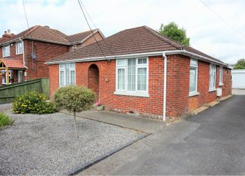 Thumbnail 3 bed detached bungalow for sale in Weavills Road, Bishopstoke