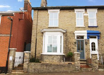 Thumbnail 2 bedroom semi-detached house for sale in Cumberland Street, Ipswich