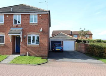 Thumbnail 2 bedroom semi-detached house for sale in 4 Rockingham Crescent, Laceby Acres, Grimsby, N.E. Lincs.
