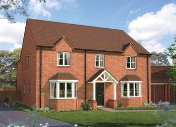 "Thumbnail 5 bed detached house for sale in ""The Ascot"" at Drake Street, Welland, Malvern"