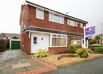 Thumbnail 3 bed semi-detached house for sale in Merton Road, Highfield, Wigan