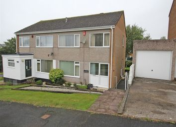 Thumbnail 3 bed semi-detached house for sale in Cressbrook Drive, Mainstone, Plymouth