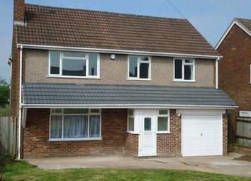 Thumbnail 5 bed detached house for sale in Wakerley Road, Leicester
