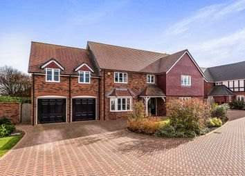 Thumbnail 5 bed detached house for sale in Knowle House Phoenix Rise, Pipe Gate, Market Drayton