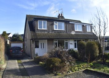 Thumbnail 3 bed semi-detached house to rent in Harewood Crescent, Oakworth, Keighley, West Yorkshire