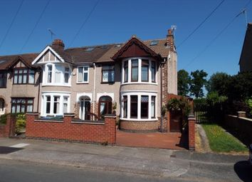 Thumbnail 4 bedroom end terrace house for sale in Gaveston Road, Coundon, Coventry