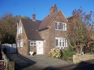 Thumbnail 2 bed semi-detached house to rent in Brook Road, Merstham, Redhill