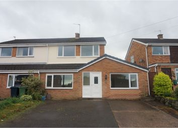 Thumbnail 4 bed semi-detached house for sale in Langley Drive, Shrewsbury