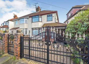 Thumbnail 3 bed semi-detached house for sale in Norville Road, Broadgreen, Liverpool, Merseyside