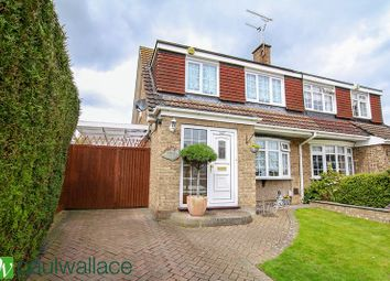 Thumbnail 3 bed semi-detached house for sale in Perrysfield Road, Cheshunt, Waltham Cross