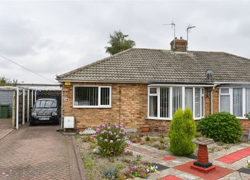 Thumbnail 2 bed semi-detached bungalow for sale in Ash Close, Stockton Lane, York
