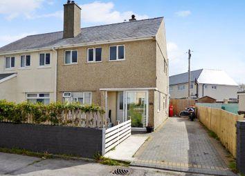 Thumbnail 3 bed semi-detached house for sale in Penrallt, Saron, Caernarfon