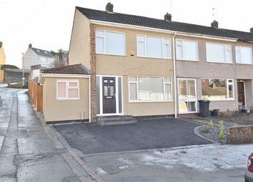Thumbnail 3 bed end terrace house for sale in Troopers Hill Road, St. George