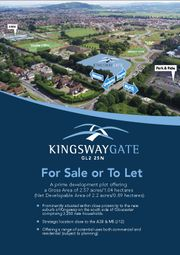 Thumbnail Land for sale in Kingsway Gate, Kingsway Business Park, Quedgeley, Gloucester