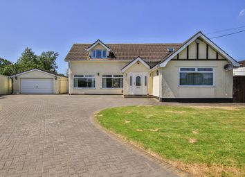 Thumbnail 4 bed detached house for sale in Drope Road, St. George's-Super-Ely, Cardiff