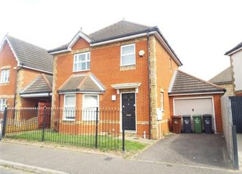 Thumbnail 3 bed detached house for sale in Parish Fields, Rush Green, Romford