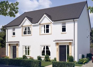 "Thumbnail 3 bed semi-detached house for sale in ""The Kilmington"" at Blantyre, Glasgow"
