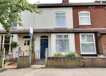 Thumbnail 2 bed terraced house to rent in Highland Road, Norwich
