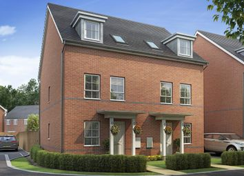 """Thumbnail 3 bedroom semi-detached house for sale in """"Padstow"""" at Henry Lock Way, Littlehampton"""