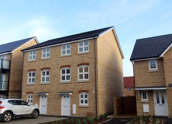 Thumbnail 3 bed semi-detached house for sale in Duffet Drive, Winnersh