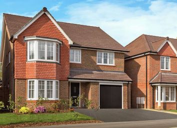 "Thumbnail 4 bed detached house for sale in ""The Pebworth"" at North Common Road, Wivelsfield Green, Haywards Heath"