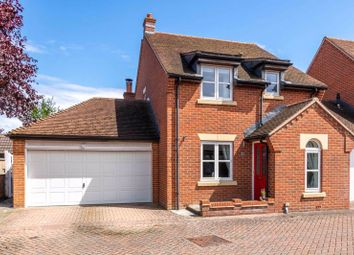 Thumbnail 3 bed detached house for sale in Cotton Close, Grove, Wantage