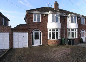 3 bed semi-detached house for sale in Carol Crescent, Halesowen B63