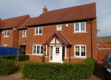 Thumbnail 4 bed link-detached house to rent in Highland Drive, Loughborough