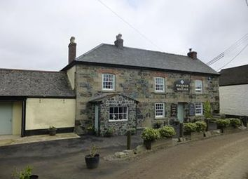 Thumbnail Pub/bar for sale in Prince Of Wales, Newtown-St-Martin, Helford, Helston