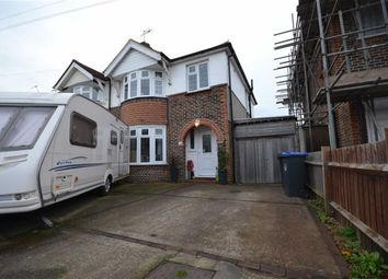 Thumbnail 3 bed semi-detached house for sale in Lavington Road, Thomas A Becket, West Sussex